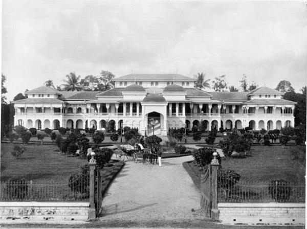 Foto : Istana Maimoon Tempo Doeloe